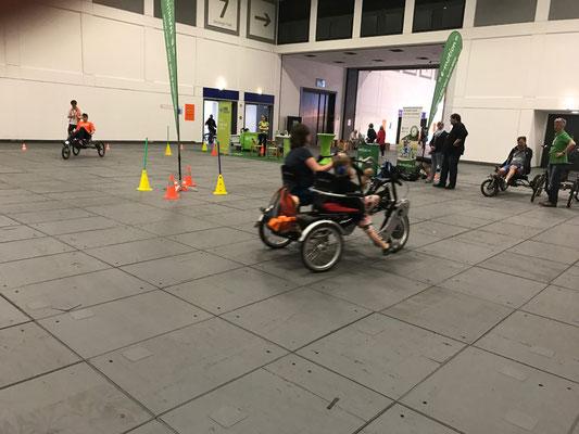 Das Dreirad-Zentrum Berlin beim ev. Kirchentag 2017