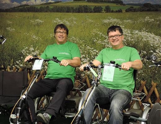 Van Raam und Pfau-Tec Dreiräder und Elektro-Dreiräder für Erwachsene vom Experten im Dreirad-Zentrum Stuttgart