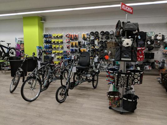 kostenlose Elektrodreirad Probefahrten und kompetente Dreirad Beratung vom Experten im Dreirad-Zentrum Münster