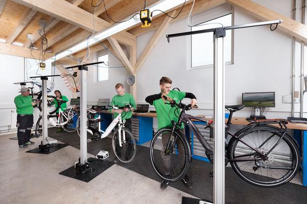 Dreirad Service Werkstatt im Dreirad-Zentrum Tuttlingen