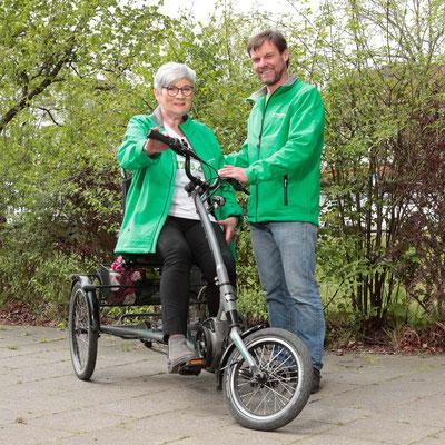 Das Team des Dreirad-Zentrums München