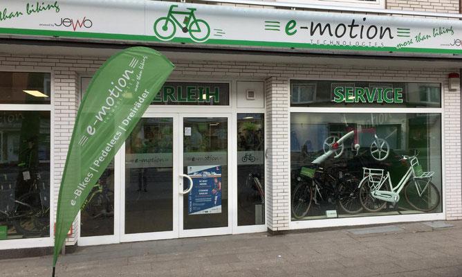 Dreiräder im Dreirad-Zentrum Bochum probefahren und kaufen