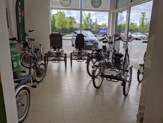 Das Dreirad-Zentrum in Bremen