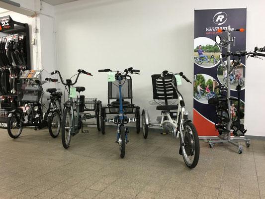 Impressionen aus dem Dreirad-Zentrum Stuttgart