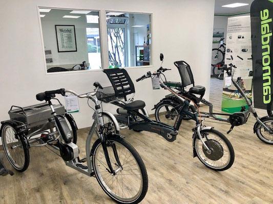 Dreiräder kostenlos testen und kaufen in Tönisvorst bei Ihren Dreirad-Experten vom Dreirad-Zentrum Tönisvorst
