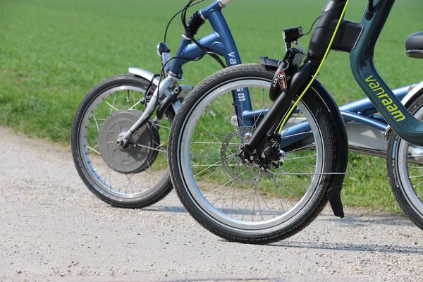 Easy Rider 2 Motor am Vorderrad
