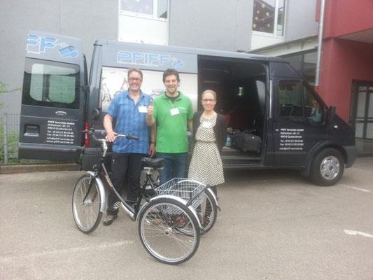 Dreirad-Zentrum Worms auf der Spezialradmesse 2015