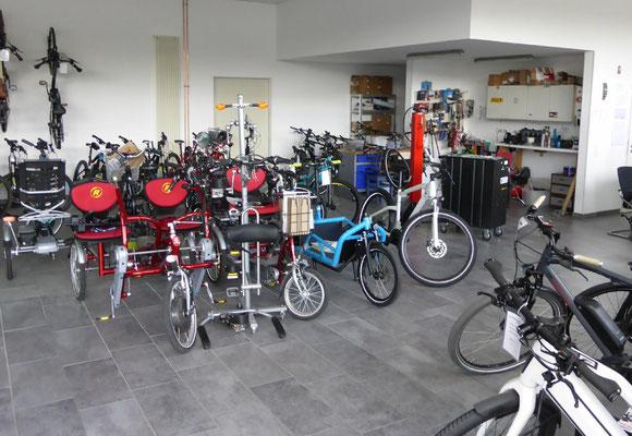 Dreiräder und Dreirad Fahrräder von Pfau-Tec im Dreirad-Zentrum Würzburg