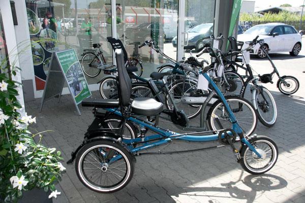 Dreiräder für Erwachsene kaufen im Dreirad-Zentrum Bremen