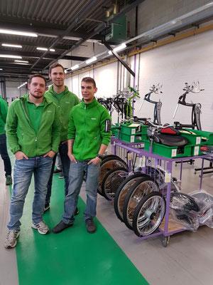 Weiterbildung beim Spezialradhersteller van Raam