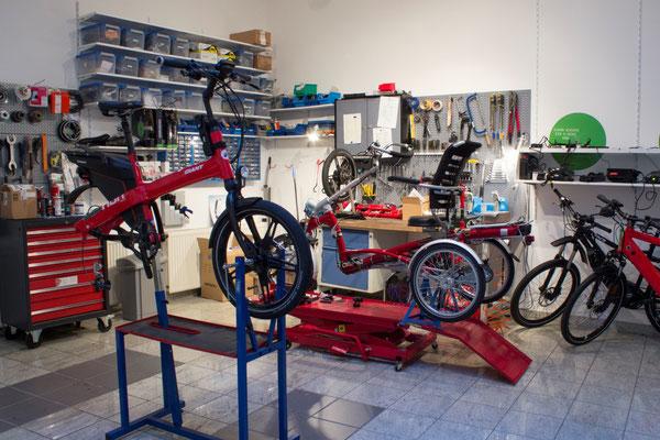Beratung vom Pfau-Tec Dreirad Experten im e-motion Dreirad-Zentrum Hannover
