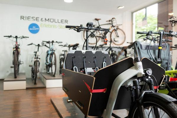 Dreiräder im e-motion Dreirad-Zentrum Hannover