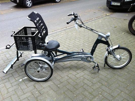 Dreirad für Erwachsene mit Elektroantrieb