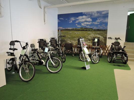 Dreiräder probefahren und kaufen im Dreirad-Zentrum Göppingen