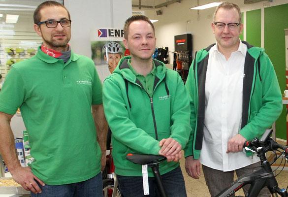kompetente Beratung der Dreirad Experten im e-motion Dreirad-Zentrum Bochum