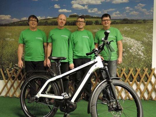 Dreirad Experten Team im Dreirad-Zentrum Göppingen