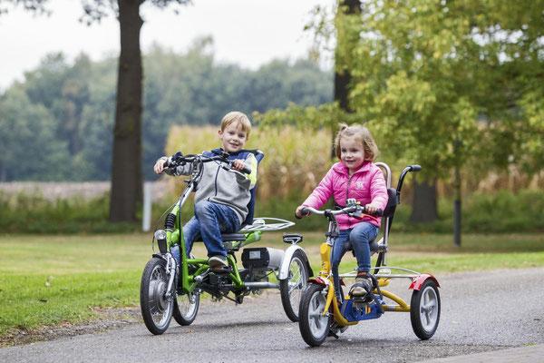 Van Raam Elektro-Dreiräder für Kinder im Dreirad-Zentrum Fuchstal kaufen