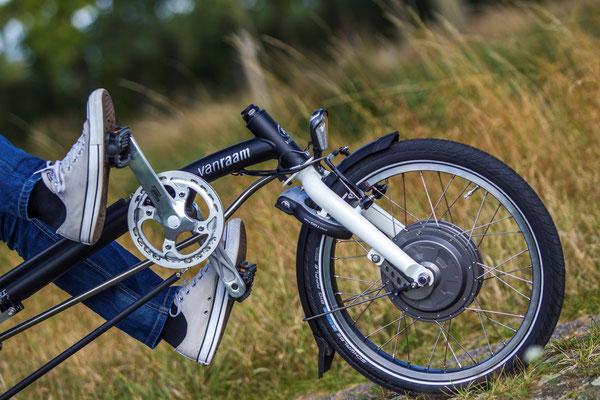 Details am Dreirad Easy Sport für Erwachsene und Senioren von Van Raam