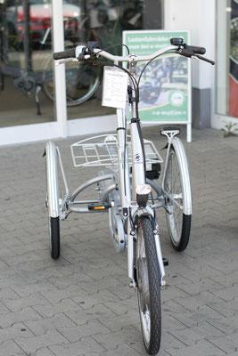 Elektro-Dreiräder testen und probefahren im Dreirad-Zentrum Bremen