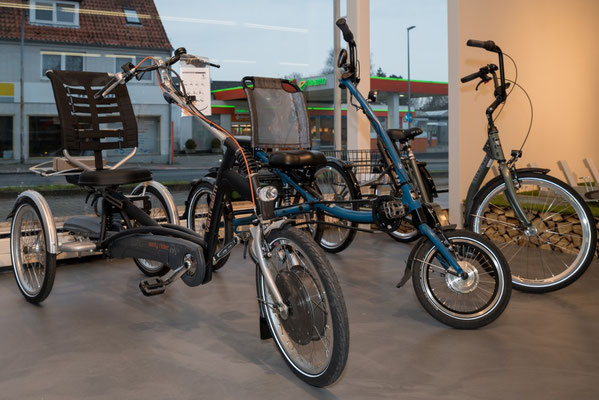 kostenlose Elektrodreirad Probefahrten und kompetente Dreirad Beratung vom Experten im Dreirad-Zentrum Schleswig