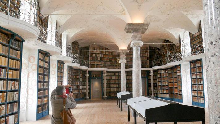 Stiftsbibliothek Übersicht