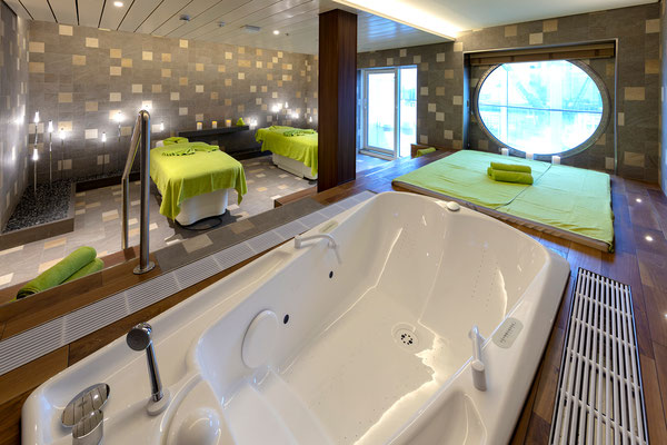 Wellness Suite | © Meyer Werft