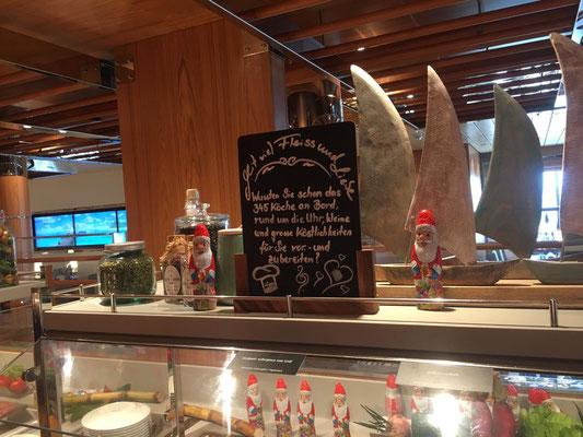 AIDAnova Yachtclub Restaurant Buffet |© Timo Köhler