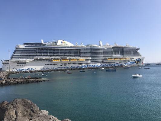 AIDAnova in Puerto del Rosario (Fuerteventura) |©Luisa Wicht