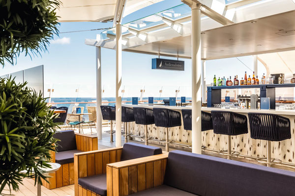 Außenalster - Bar & Grill | © TUI Cruises