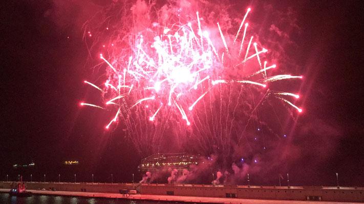 Das große Feuerwerk auf Teneriffa |©Luisa Wicht