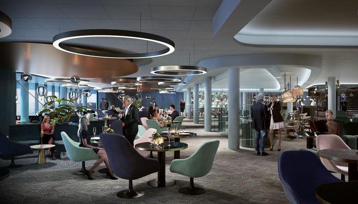 Die neue Schaubar // © TUI Cruises