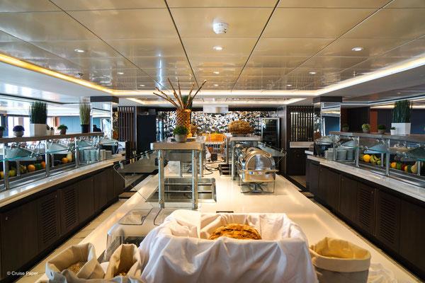 Mystic Hauptrestaurant Buffetbereich