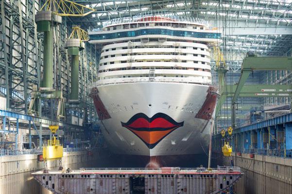 AIDAnova Kussmund // © AIDA Cruises