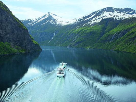 Kreuzfahrten mit AIDAaura buchen // © AIDA Cruises