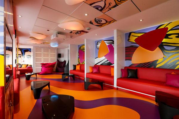 AIDAcara Cara Lounge |©AIDA Cruises