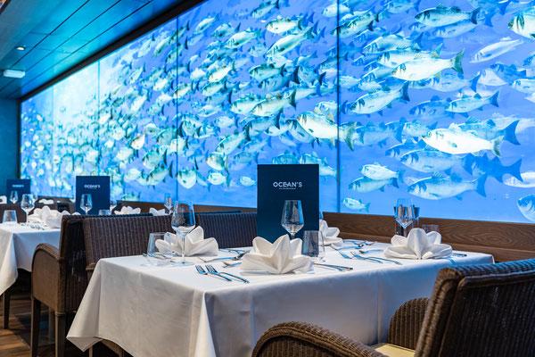 Ocean's - Das Fischrestaurant |© AIDA Cruises