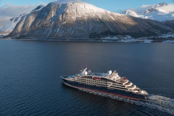 Le Bougainville in Norwegen |© PONANT - Philip Plisson