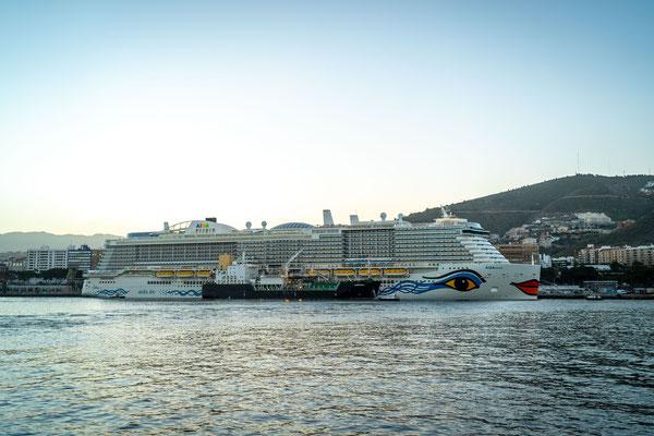AIDAnova in Teneriffa |© AIDA Cruises
