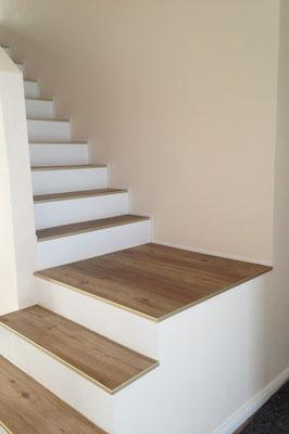 Treppenbelegung ©Parkettwelt Adendorf