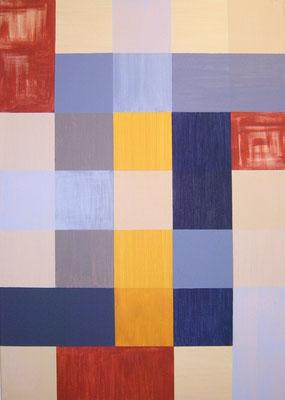 Geometrie     Acryl auf Leinwand 50 x 70  CHF 350