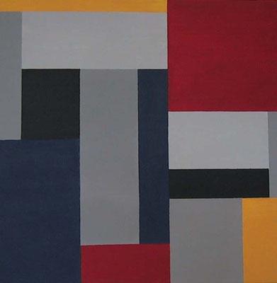 Geometrie     Acryl auf Leinwand  50 x 50  CHF 300