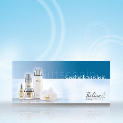 Gutschein Kosmetikinstitut Ozeanblau