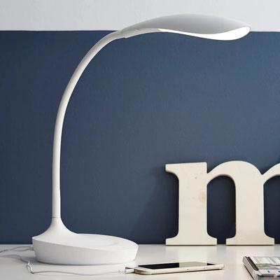 LED-Tischleuchte Swan (lampenwelt.ch)