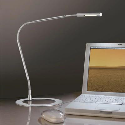Paulmann Plaza LED-Schreibtischlampe, Eisen  (lampenwelt.ch)