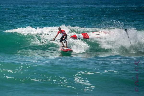 Marco en compétition sup-race