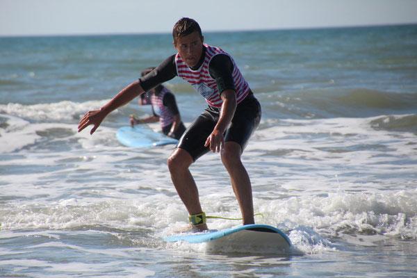 Contrôler son surf jusqu'au bord