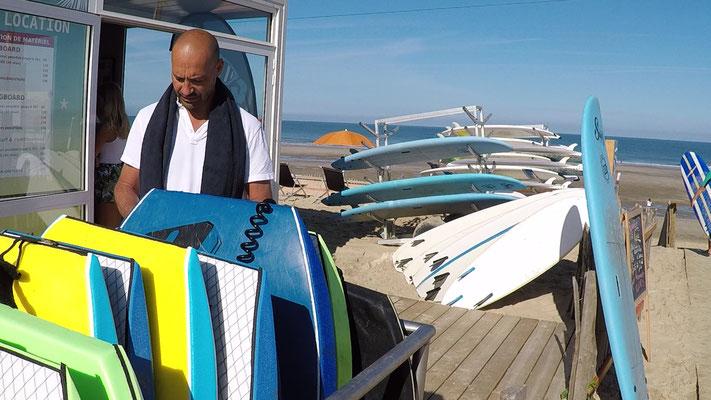 Bodyboards, surfs, longboards, combinaisons... un parc locatif pour tous
