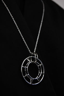Necklace #3 .                      Material : silver 925 / Size : 43mm × 43mm