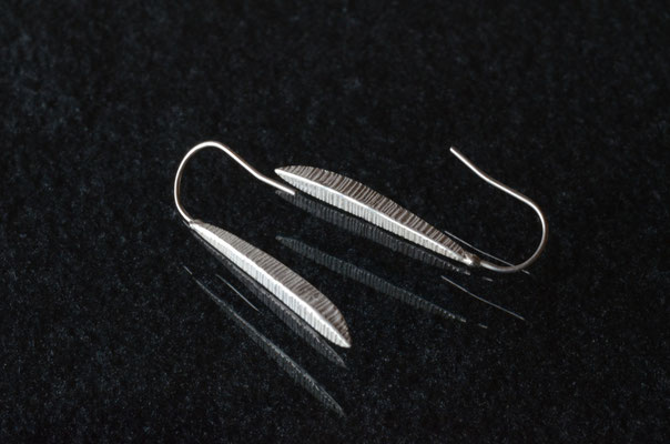 Pierce #4 .                      Material : silver 925 / Size : 30mm × 4mm