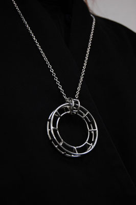 Necklace #2 .                      Material : silver 925 / Size : 55mm × 55mm